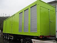 40ft sound-attenuated container for gen-set