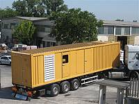 45ft sound-attenuated container for gen-set