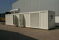 45ft sound-attenuated container