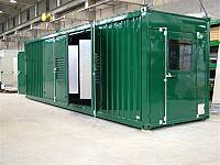 Standard sound-attenuated container