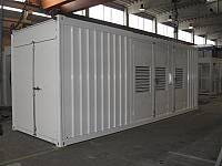 20ft standard sound-attenuated container