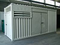 20ft super sound-attenuated container for gen-set