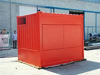 10ft super sound-attenuated container for gen-set