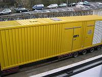 40ft sound-attenuated container