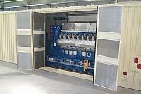 Containerized 4000-kVA gen-set
