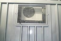 Niche for outdoor unit - split air conditioning system